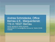 Tablet Preview of office-bernau.de
